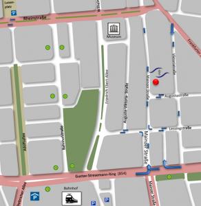 Test Straßenkarte Mainzer 9